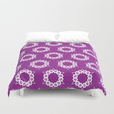 Abstract Stars Pattern Duvet Cover