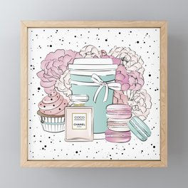 Sweet Life CC Framed Mini Art Print