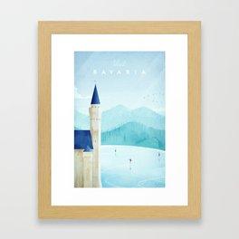 Bavaria Framed Art Print