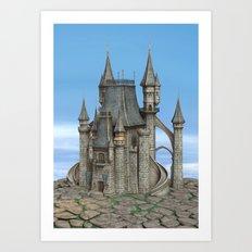 Fairy Tale Castle Art Print