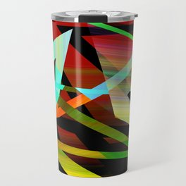 Rectilinear Design 3 Travel Mug