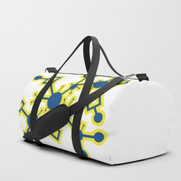 SciFi Circuitry Burst Duffle Bag