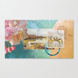Daydream on the Ocean Canvas Print