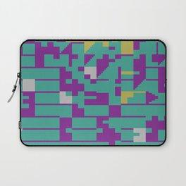Abstract 8 Bit Art Laptop Sleeve