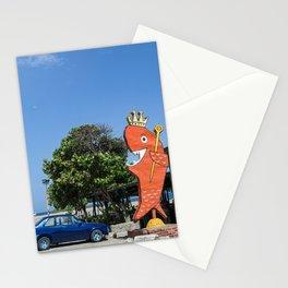 El Rey del Pescado Frito Stationery Cards