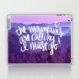 Mountains Are Calling Laptop & iPad Skin