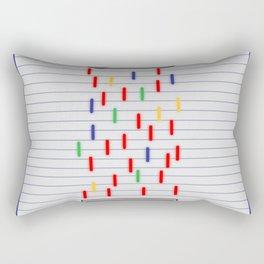 NES vs Super Nes Rectangular Pillow
