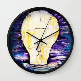 Bright Ideas Wall Clock