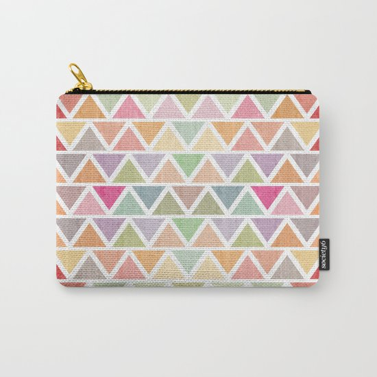 Lovely geometric Pattern III Carry-All Pouch