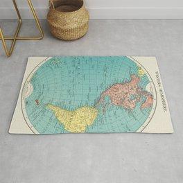 Western Hemisphere, World Atlas by Rand, McNally and Co (1908) Rug