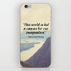The World is a Canvas iPhone & iPod Skin