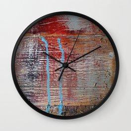Vintage Barn Wood Wall Clock