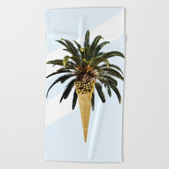 Coconut Ice Cream #society6 #decor #buyart Beach Towel