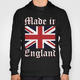 Union Jack Made In England Flag Hoody