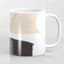 Abstract composition with lines Coffee Mug