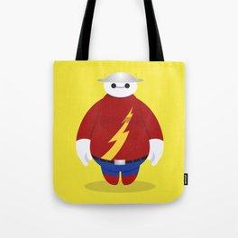 The Flash x Baymax (Flashmax) Tote Bag
