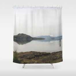 Fly Fishing Iceland Shower Curtain