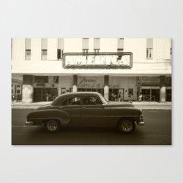 Teatro America  Canvas Print