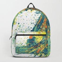 Parrot Splatter Backpack