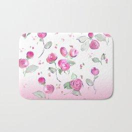 rosebuds Bath Mat