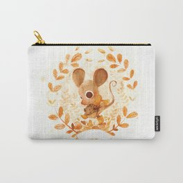 Charles the Brave Little Mouse Carry-All Pouch