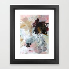 the last night Framed Art Print