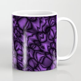 Pearl amethyst soap bubbles patterned with precious blurred outlines Coffee Mug