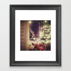 Under the Lights Framed Art Print