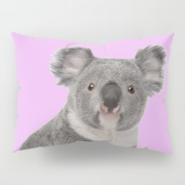 Pretty Cute Koala Pillow Sham