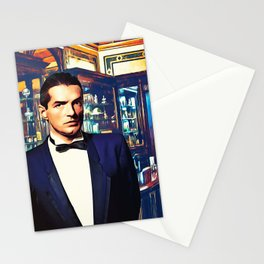 Falco at the Cafe Stationery Cards