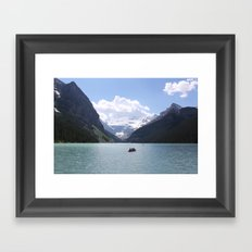 Lake Louise, Canada (2012) Framed Art Print