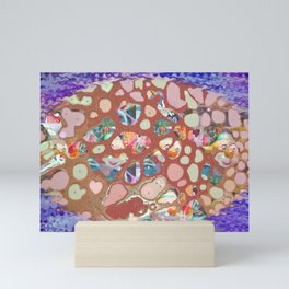 Bubble Bath Mini Art Print