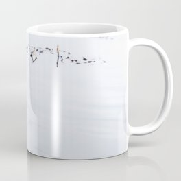Lucky Duck - Animal Nature Photography Coffee Mug