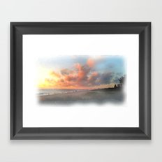 Vero Beach Sunrise Framed Art Print