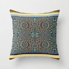 Egyptian Garden Throw Pillow
