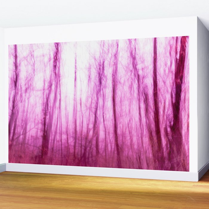 Abstract forest Wall Mural