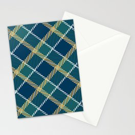 Saint Patrick's tartan cloak. Stationery Cards