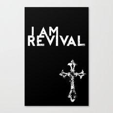 I Am Revival Canvas Print