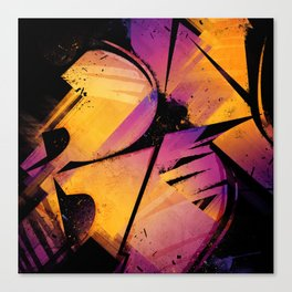 B--Abstract Canvas Print