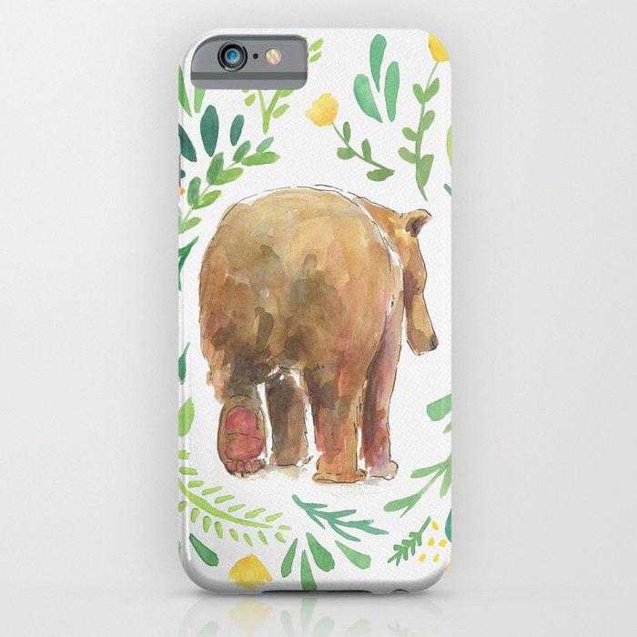 Watercolor Bear iPhone Case