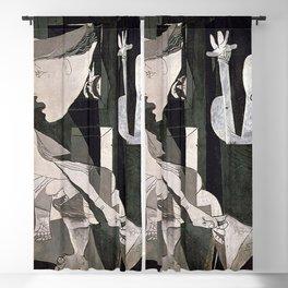 GUERNICA #2 - PABLO PICASSO Blackout Curtain