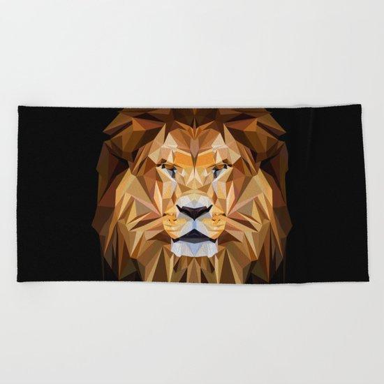 LION XXX Beach Towel
