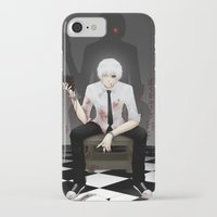 tokyo ghoul iPhone & iPod Cases featuring Kaneki Tokyo Ghoul 2 by Prince Of Darkness