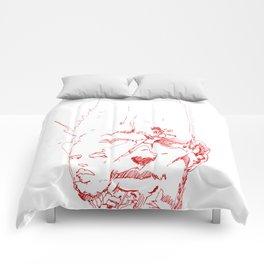 Facefractal Comforters
