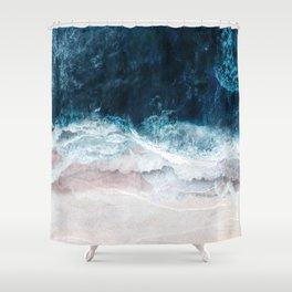 Blue Sea II Shower Curtain