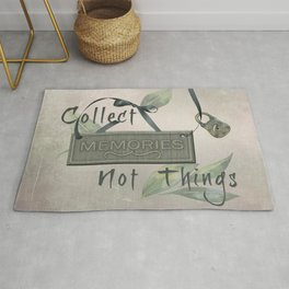 Collect Memories Rug