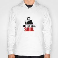 better call saul Hoodies featuring Better Call Saul  by Freak Clothing