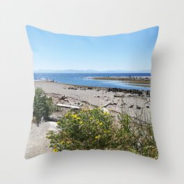 Sunshine Coast BC Canada Throw Pillow