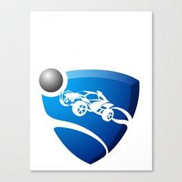 Rocket League Design Canvas Print