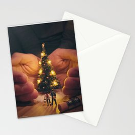 Holiday Spirit Stationery Cards